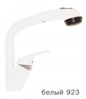 Смеситель кухонный Tolero высокая лейка белый код 101429-923