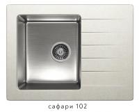 Комбинированная кухонная мойка TOLERO TWIST TTS-660 сафари код 101822