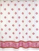 Штора для в/к, полиэстер, 180*200, Zalel 1185, розовый код 102027