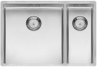 Кухонная мойка из нержавеющей стали Reginox New York L 40х40+18х40 код 101511