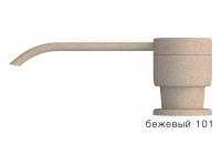 Дозатор моющего средства с флаконом Tolero бежевый код 100036-101