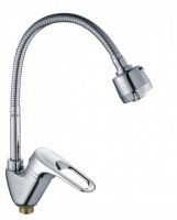 Смеситель для кухни с гибким изливом Haiba НВ4304-3 код 100816A