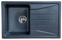 Мойка для кухни мрамор Granicom G-022 грей код 100328