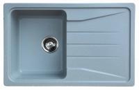 Мойка для кухни мрамор Granicom G-022 серебристая код 100331