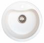 Мойка для кухни искусственный камень NOVELL Лира белая код 100595