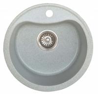 Мойка для кухни искусственный камень NOVELL Лира серая код 100598