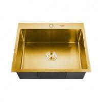 Мойка для кухни врезная MELANA ProfLine 3,0/200 Золото H6050G код 101228