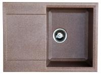 Мойка для кухни искусственный камень NOVELL София терракотовая код 101860