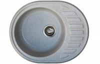 Мойка для кухни искусственный камень NOVELL Аврора графит код 101867