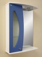 Зеркало Норта Квадро 03 левое, синий код 101278