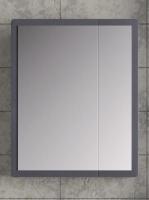 Зеркальный шкаф Норта Монти 70 графит код 101306