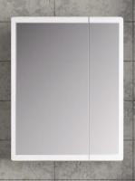 Зеркальный шкаф Норта Монти 70 белый матовый код 101308