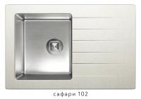 Комбинированная кухонная мойка TOLERO TWIST TTS-760 сафари код 101583-102