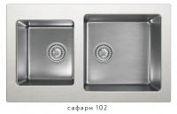 Комбинированная кухонная мойка TOLERO TWIST TTS-840 сафари код 101589-102