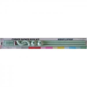 Карниз для в/к угловой зеленый 90-90-90, ZALEL код 101768