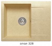 Мойка для кухни гранитная Polygran Gals-620 опал код 101800