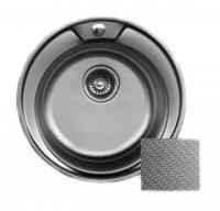 Мойка для кухни врезная SinkLight D510 decor код 100860