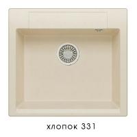 Мойка для кухни гранитная Polygran Argo-560 хлопок код 101959