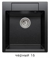 Мойка для кухни гранитная Polygran Argo-460 черная код 101820