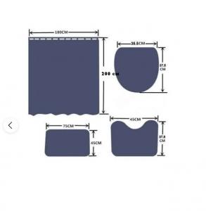 Набор для ванной комнаты Zalel yl1377, 4 предмета код 102029