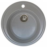 Мойка для кухни мрамор Granicom G-009 серебристая код 100296