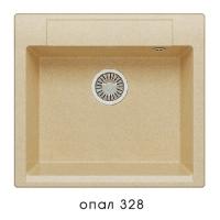 Мойка для кухни гранитная Polygran Argo-560 опал код 101958