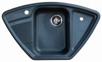 Мойка для кухни мрамор Granicom G-008 грей код 100286
