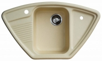 Мойка для кухни мрамор Granicom G-008 шампань код 100290