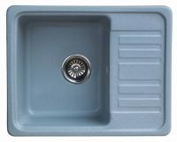 Мойка для кухни мрамор Granicom G-007 серебристая код 100282
