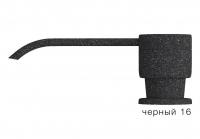 Дозатор моющего средства с флаконом Polygran черный код 100036-16