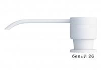 Дозатор моющего средства с флаконом Polygran белый код 100036-26