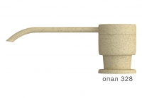 Дозатор моющего средства с флаконом Polygran опал код 100036-328