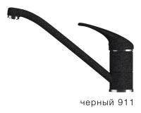 Смеситель для кухни TOLERO Эко низкий черный код 100115-911