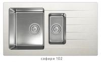 Комбинированная кухонная мойка TOLERO TWIST TTS-890K сафари код 101855-102