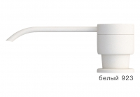 Дозатор моющего средства с флаконом Tolero белый код 100036-923