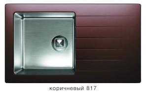 Комбинированная кухонная мойка TOLERO TWIST TTS-860 коричневая код 101590-817