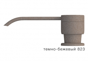 Дозатор моющего средства с флаконом Tolero темно-бежевый код 100036-823