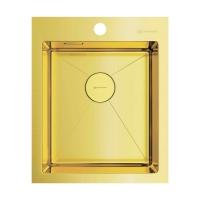 Мойка для кухни Omoikiri Akisame 41 LG, светлое золото код 101895