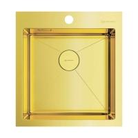 Мойка для кухни Omoikiri Akisame 46 LG, светлое золото код 101899