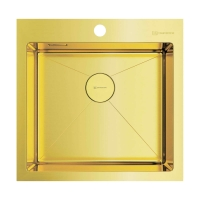 Мойка для кухни Omoikiri Akisame 51 LG, светлое золото код 101903
