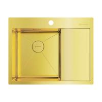 Мойка для кухни Omoikiri Akisame 65 LG-L, светлое золото код 101910