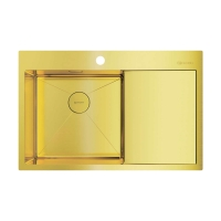 Мойка для кухни Omoikiri Akisame 78 LG-L, светлое золото код 101911