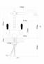 Смеситель для кухни Florentina Ария FL антрацит с подключением к фильтру питьевой воды код 101644