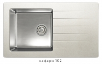 Комбинированная кухонная мойка TOLERO TWIST TTS-860 сафари код 101590-102