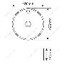 Накладная раковина melana mln-T4039 код 101480