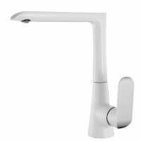 Смеситель для кухни, белый/хром, Calipso, IDDIS, CALSBL0i05 код 100913