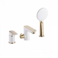 Смеситель на борт ванны на 3 отверстия с керамическим дивертором, Cloud, IDDIS, CLOWG30i07 код 101035