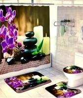 Набор для ванной комнаты Zalel cx329, 4 предмета код 102031
