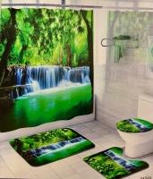 Набор для ванной комнаты Zalel cx349, 4 предмета код 102040