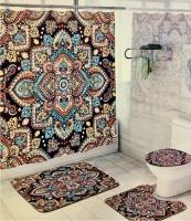 Набор для ванной комнаты Zalel cx673, 4 предмета код 102030